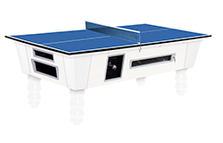 Mesa de billar americano transformable en mesa ping pong